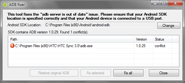Adb server is out of date in Brisbane