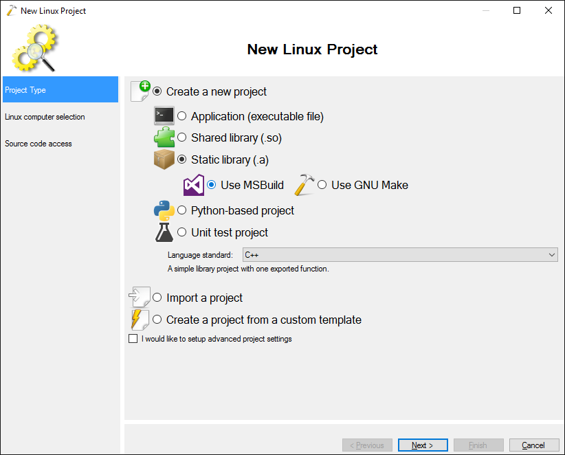 Creating Linux Libraries with Visual Studio – VisualGDB Tutorials