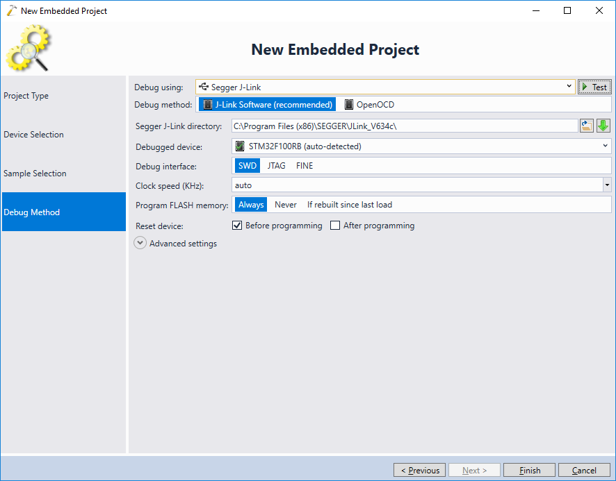 Developing STM32 projects with Visual Studio – VisualGDB Tutorials
