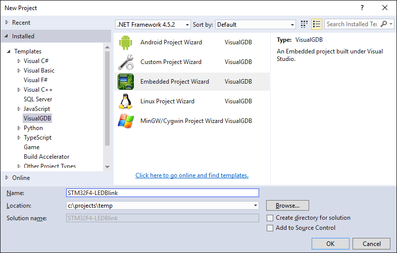 STM32F4-Discovery tutorial with Visual Studio – VisualGDB Tutorials
