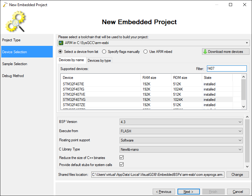 STM32F4-Discovery tutorial with Visual Studio – VisualGDB