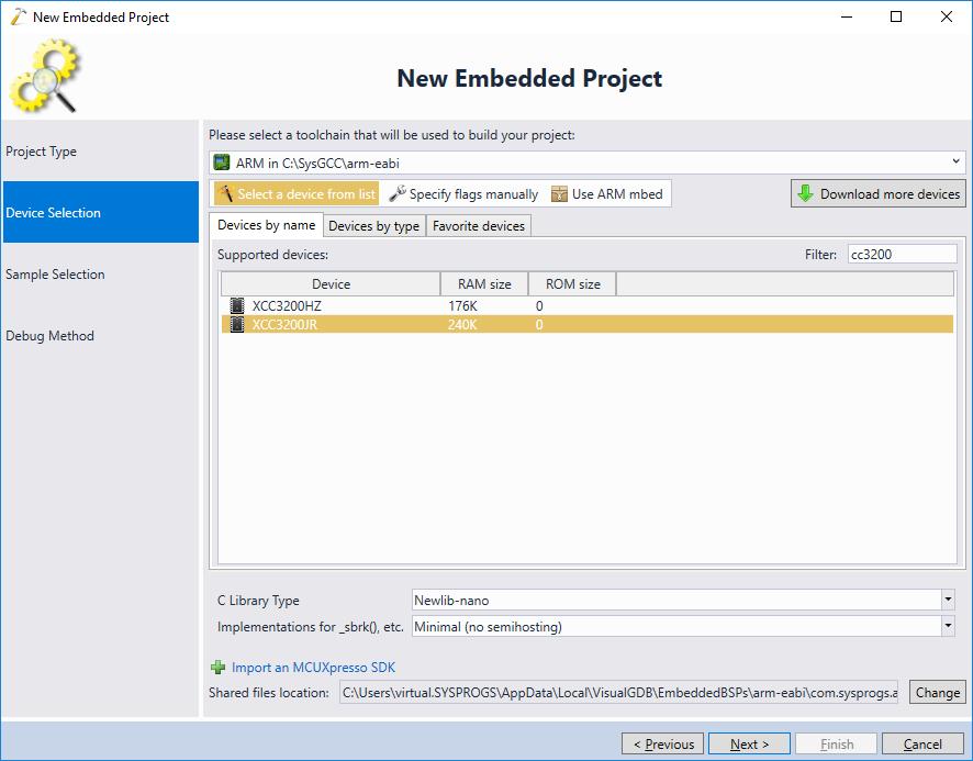 Sharing VisualGDB Projects Between Multiple Users – VisualGDB Tutorials