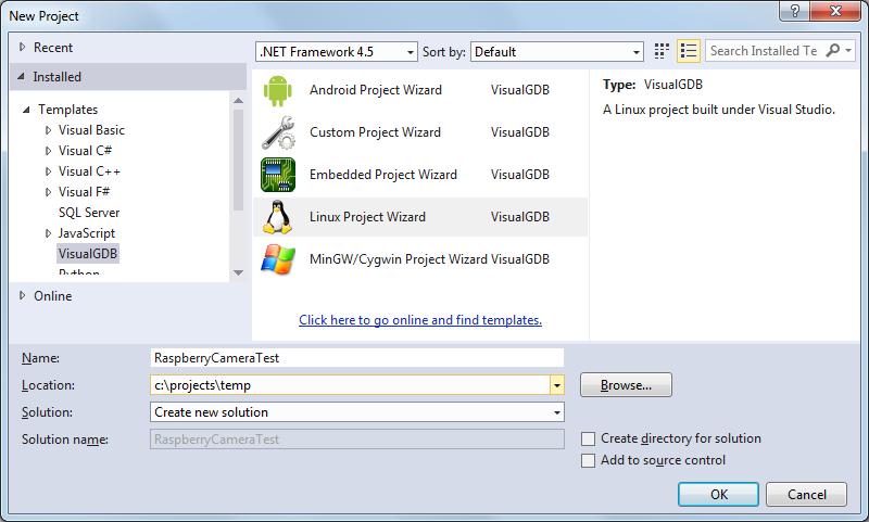 how to create a program on a raspberry pi