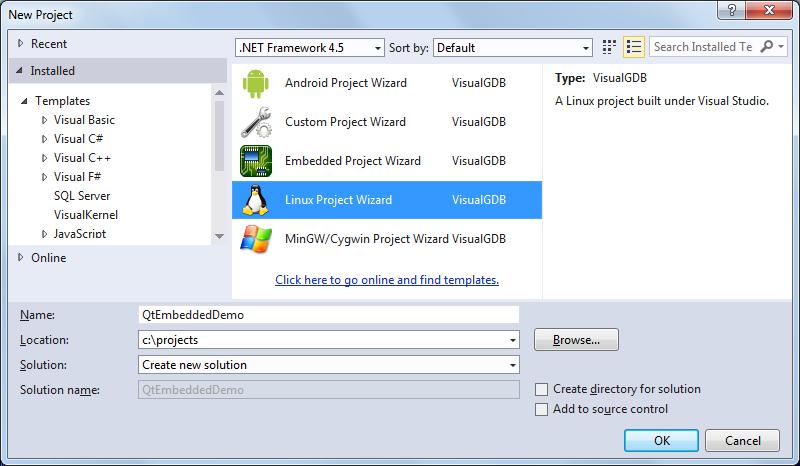Creating a Qt-Embedded app for Raspberry Pi – VisualGDB