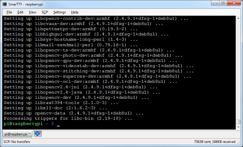 install opencv ubuntu command line