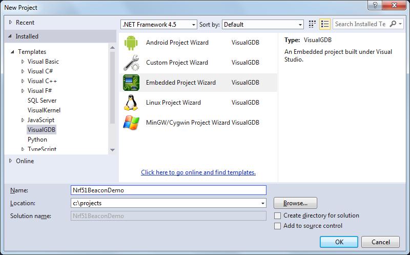 Debugging Nordic nRF51822 Beacon Kit Firmware – VisualGDB
