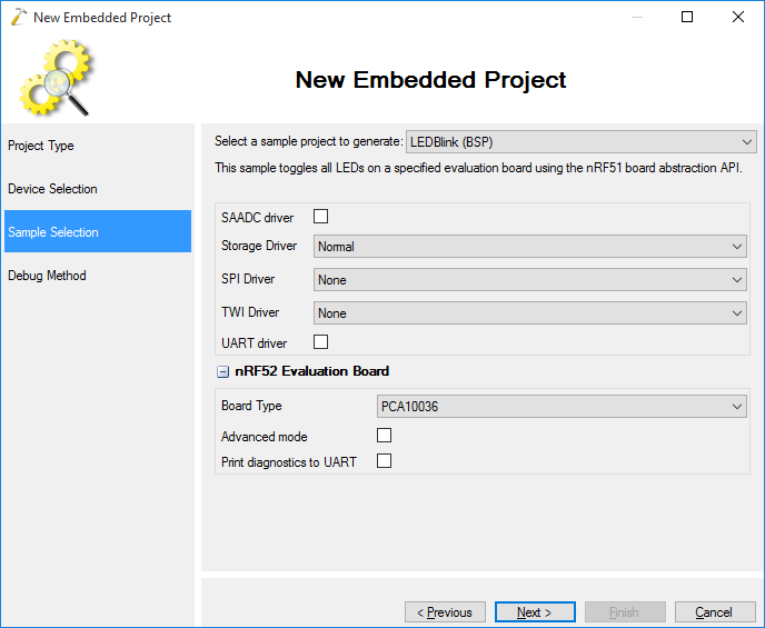 Developing Nordic nRF52 code with Visual Studio – VisualGDB