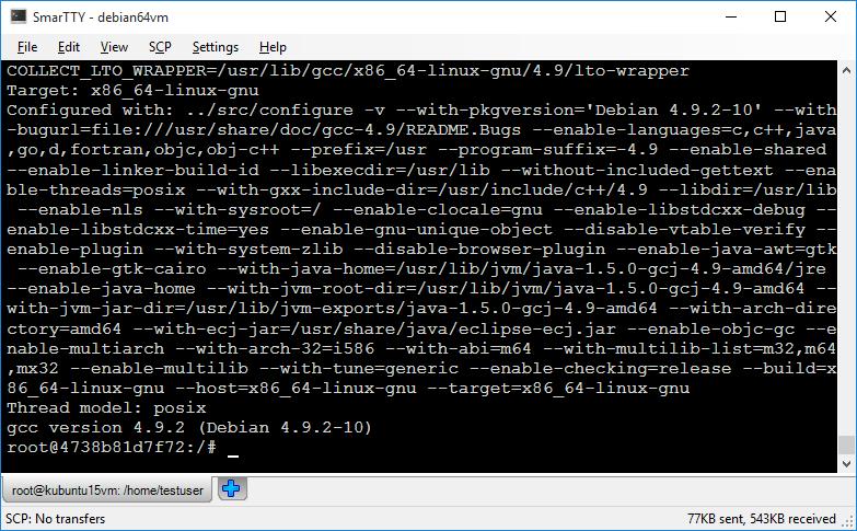 gcc commands in linux pdf