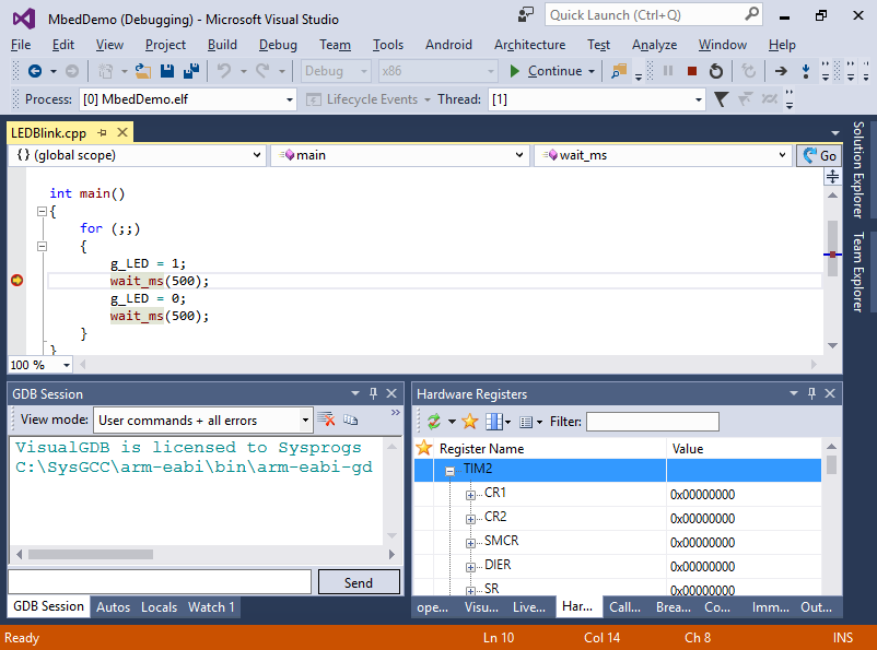 Announcement: Mbed plugin for Visual Studio | Mbed
