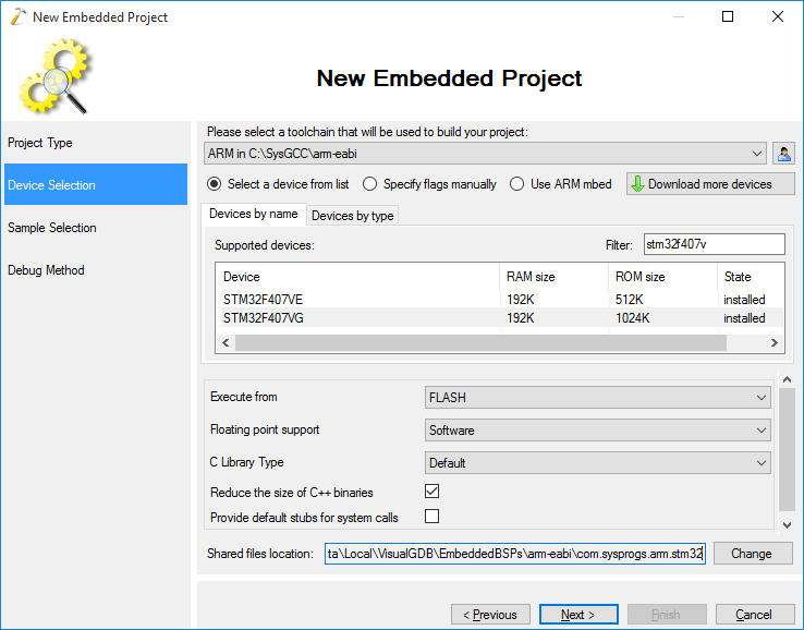 Precise embedded profiling with VisualGDB – VisualGDB Tutorials
