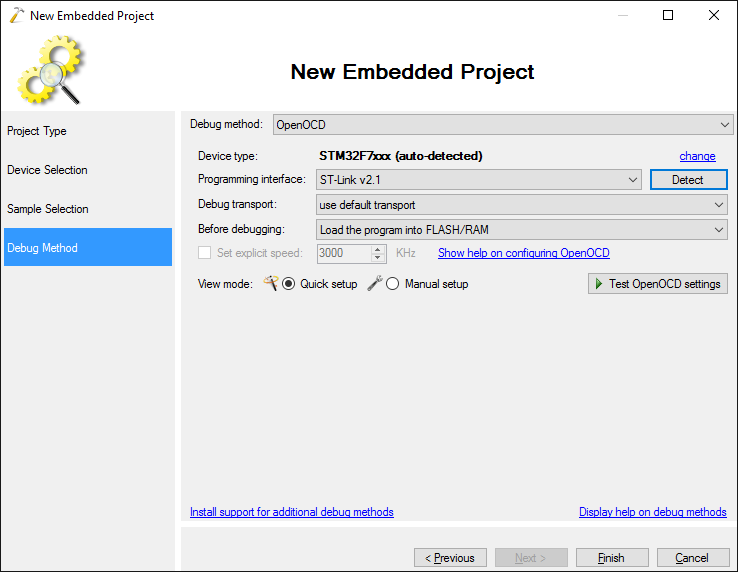 Adding External Memories to Embedded Projects – VisualGDB Tutorials