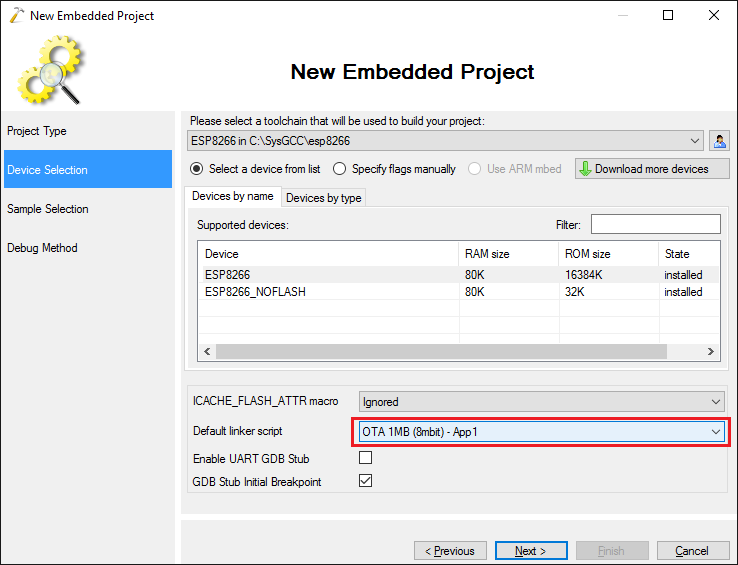 Updating Firmware Over-the-Air on ESP8266 – VisualGDB Tutorials