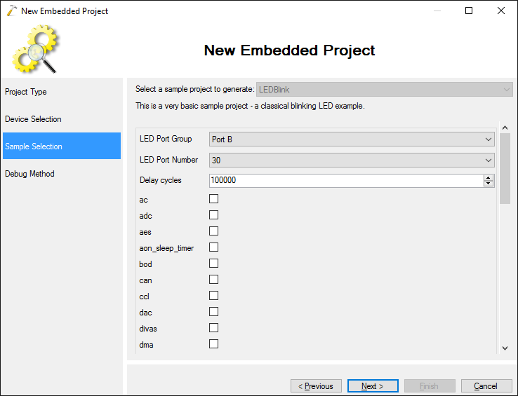 Developing projects for Atmel ARM Cortex devices with Visual Studio