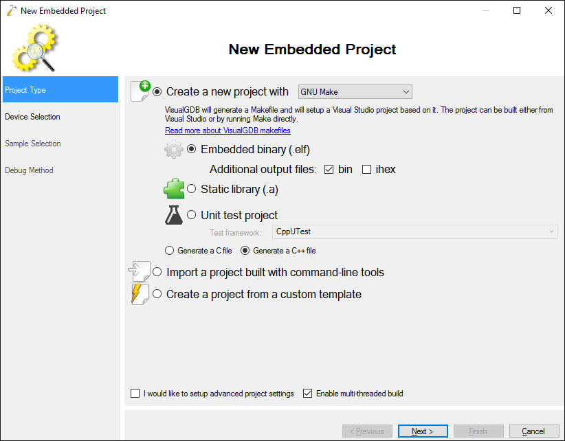 Converting VisualGDB Make projects to MSBuild – VisualGDB
