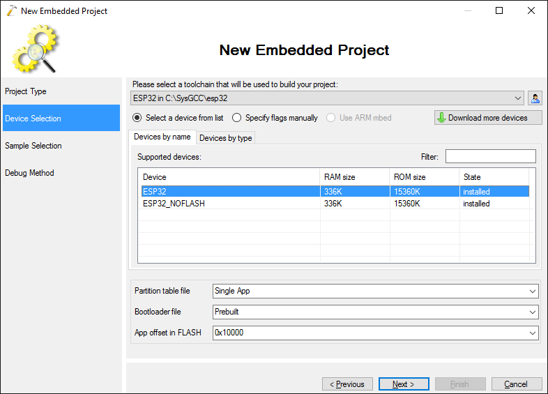 Developing Projects for ESP32 Devices with Visual Studio – VisualGDB