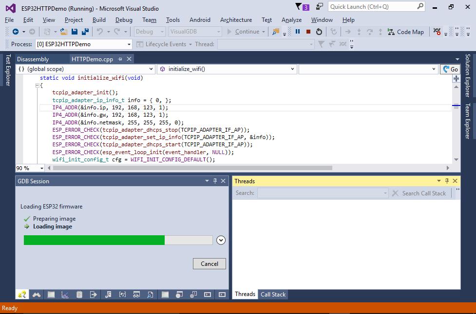 Creating a Basic HTTP Server with ESP32 – VisualGDB Tutorials