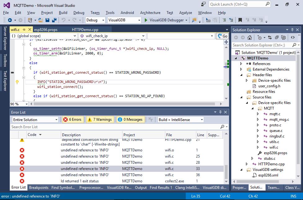 Using MQTT to remotely control an ESP8266 board – VisualGDB
