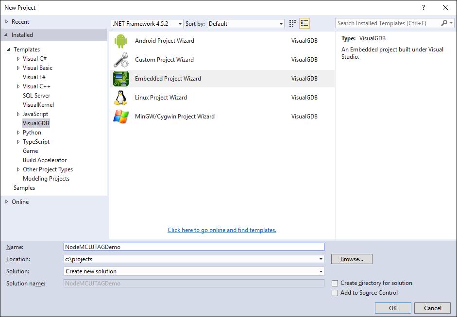 Debugging NodeMCU Firmware over JTAG – VisualGDB Tutorials