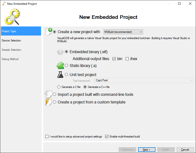 Developing firmware for NodeMCU with Visual Studio