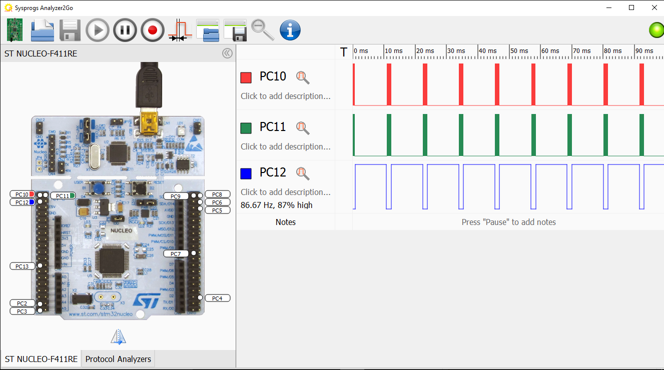 Using the SPI interface on STM32 devices – VisualGDB Tutorials