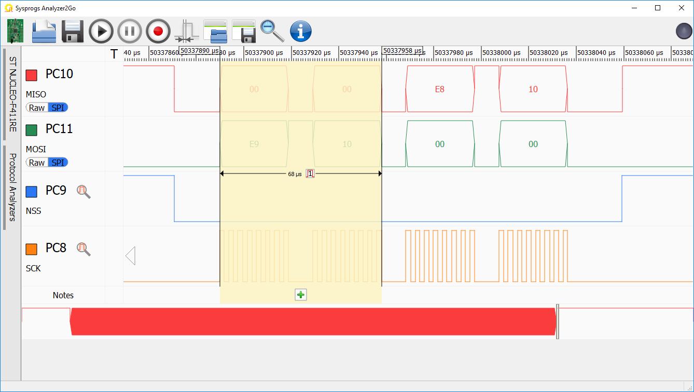 Connecting 2 STM32 boards via SPI – VisualGDB Tutorials