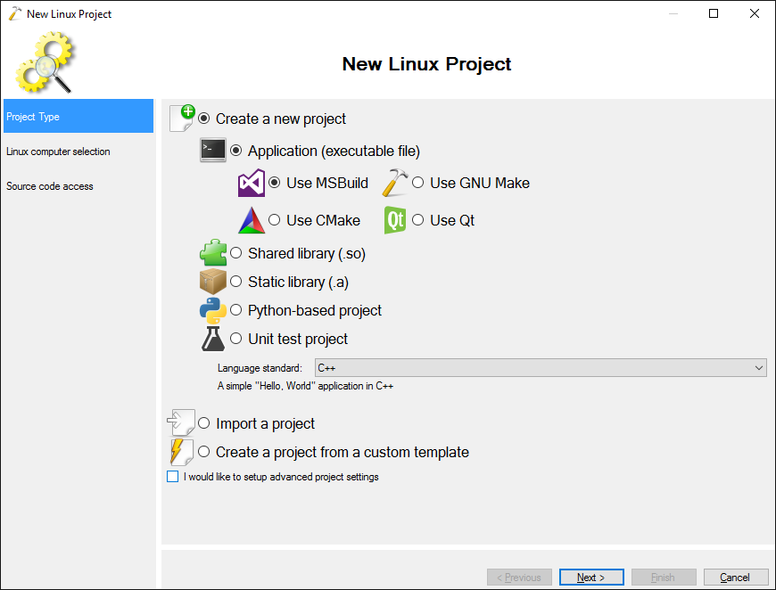 Building Qt projects for Linux with MSBuild – VisualGDB Tutorials
