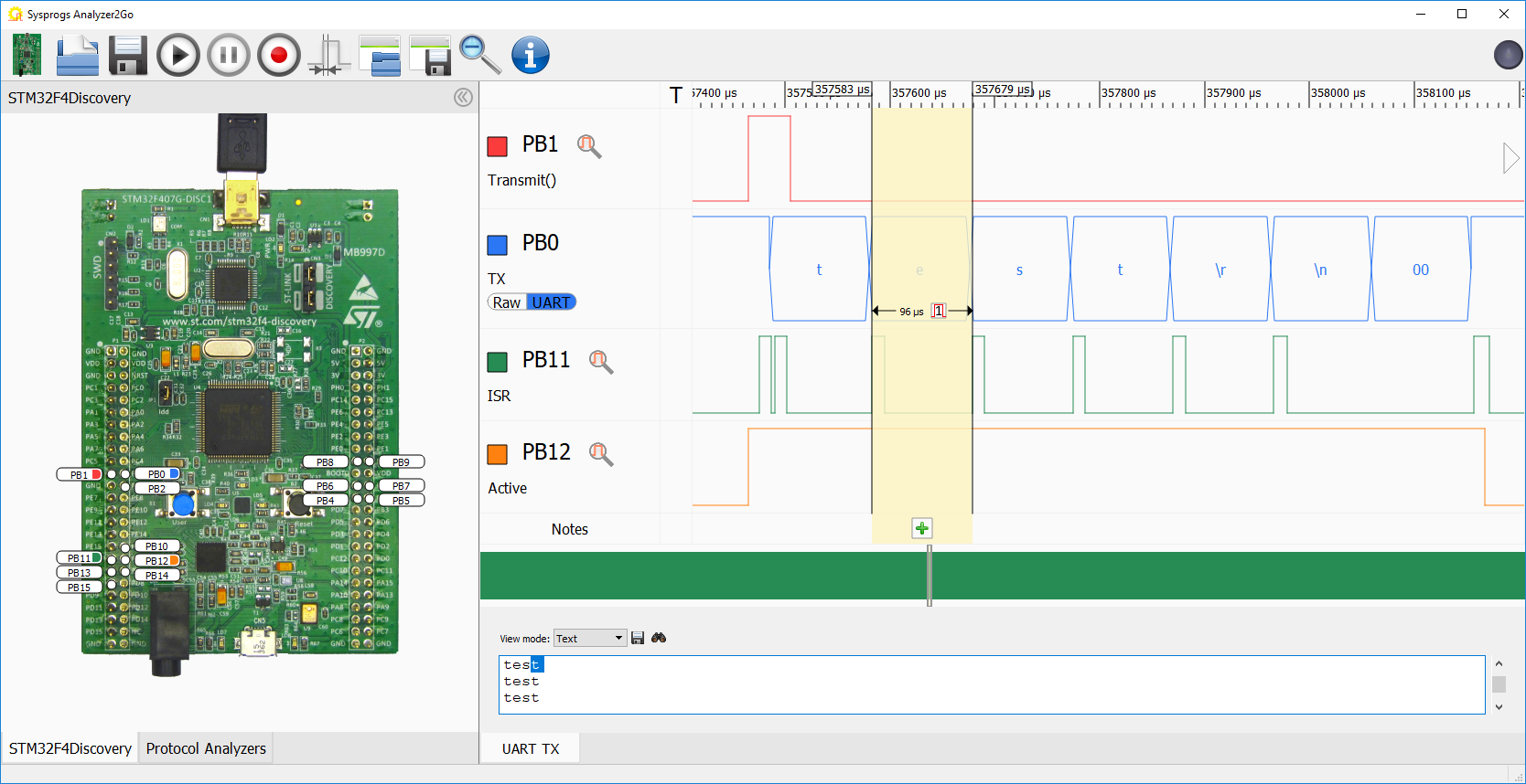 Using the STM32 UART interface with HAL – VisualGDB Tutorials