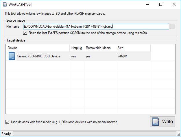Running Debian Stretch images on BeagleBone – VisualGDB