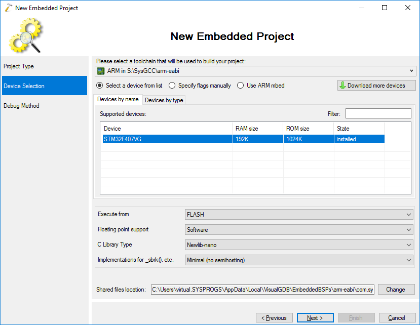 Importing IAR Projects into Visual Studio with VisualGDB