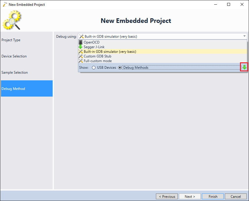 Debugging Embedded projects with PyOCD – VisualGDB Tutorials