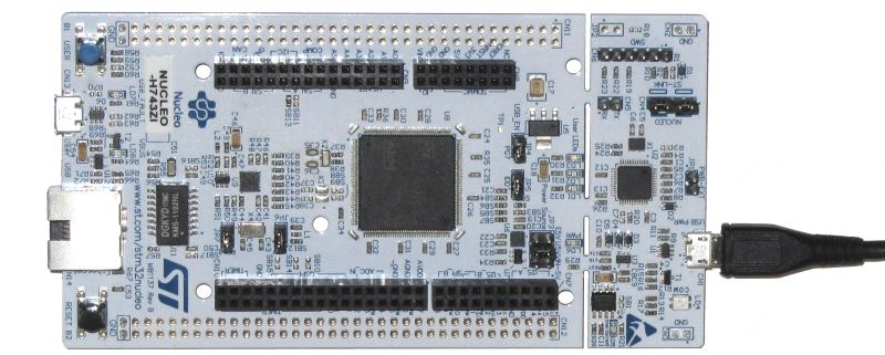 Measuring the Relative Performance of the STM32H7 Devices