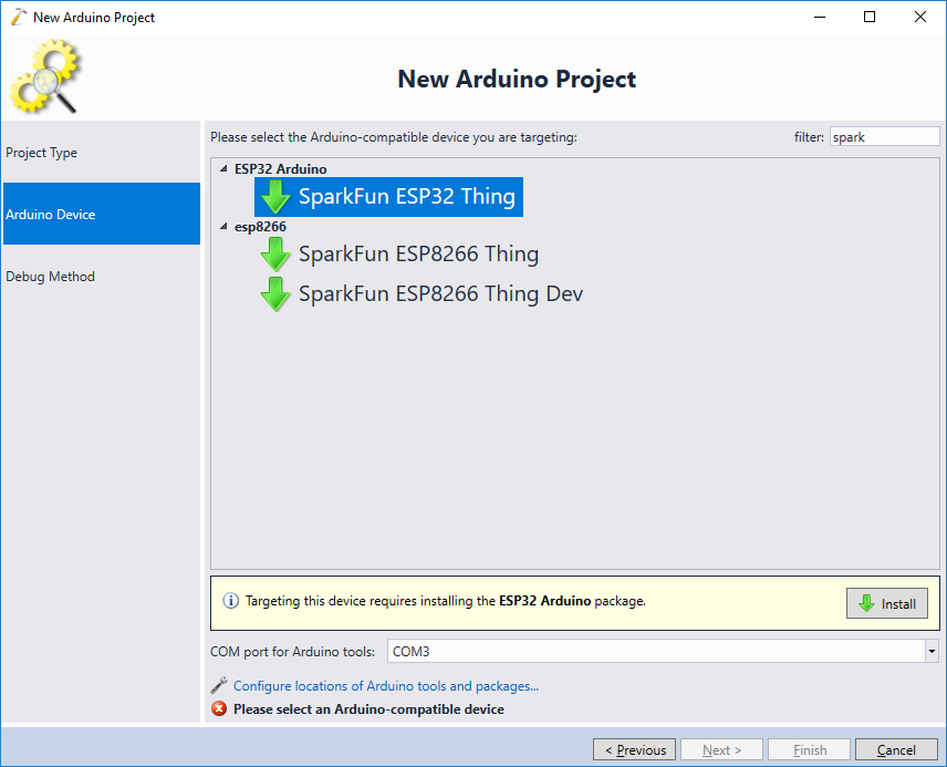 Developing ESP32 Arduino Projects with Visual Studio