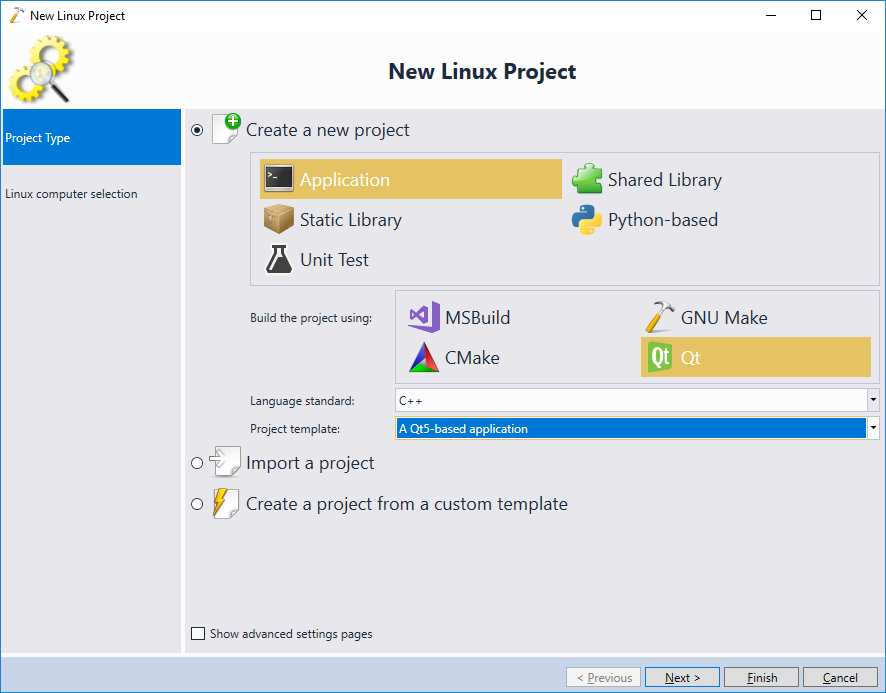 Building Qt Projects with Linux Cross-toolchains and MSBuild