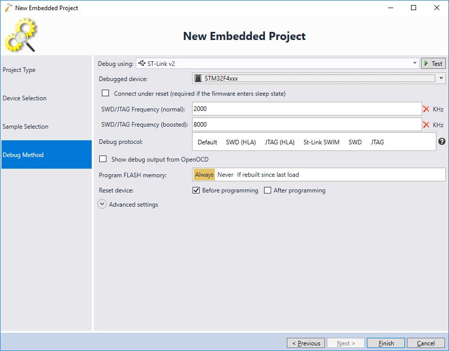 Debugging RTX-based projects with VisualGDB – VisualGDB Tutorials