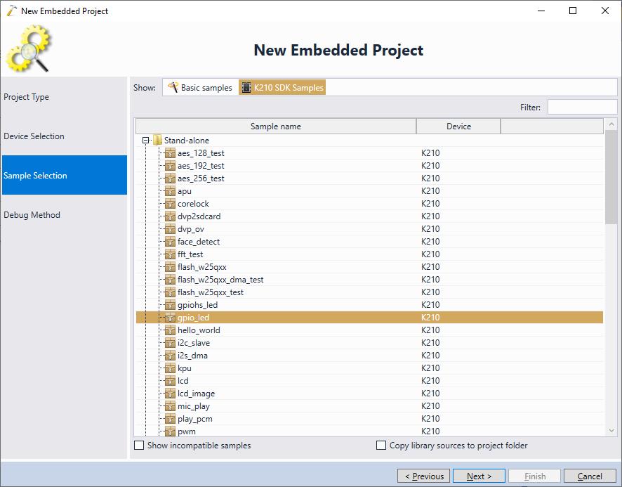 Debugging Kendryte K210 Projects with Visual Studio – VisualGDB