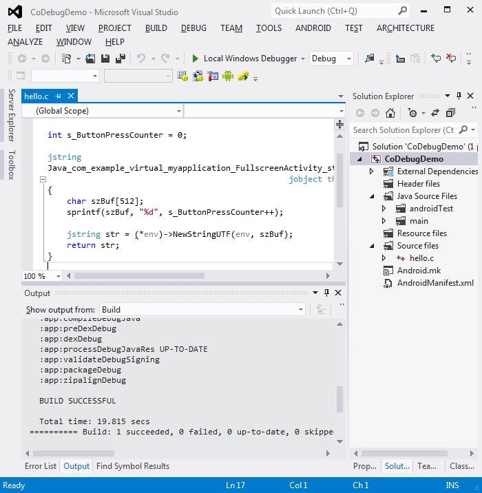 how to build java on androdi studio