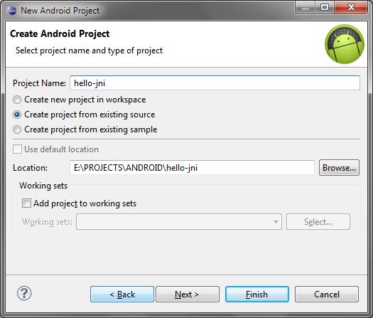 Co-debugging hello-jni with Eclipse and Visual Studio – VisualGDB