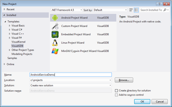 Debugging Isolated Android Processes with VisualGDB – VisualGDB