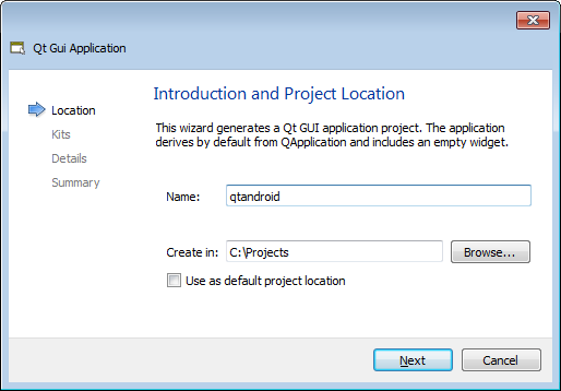 Developing Qt Projects for Android with VisualGDB – VisualGDB Tutorials