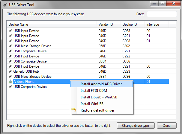Setting up USB debugging for your Android device – VisualGDB Tutorials