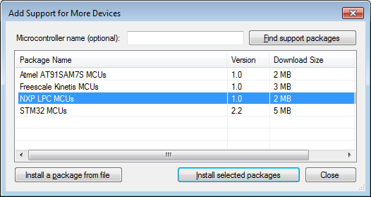 Developing NXP LPC projects with Visual Studio – VisualGDB