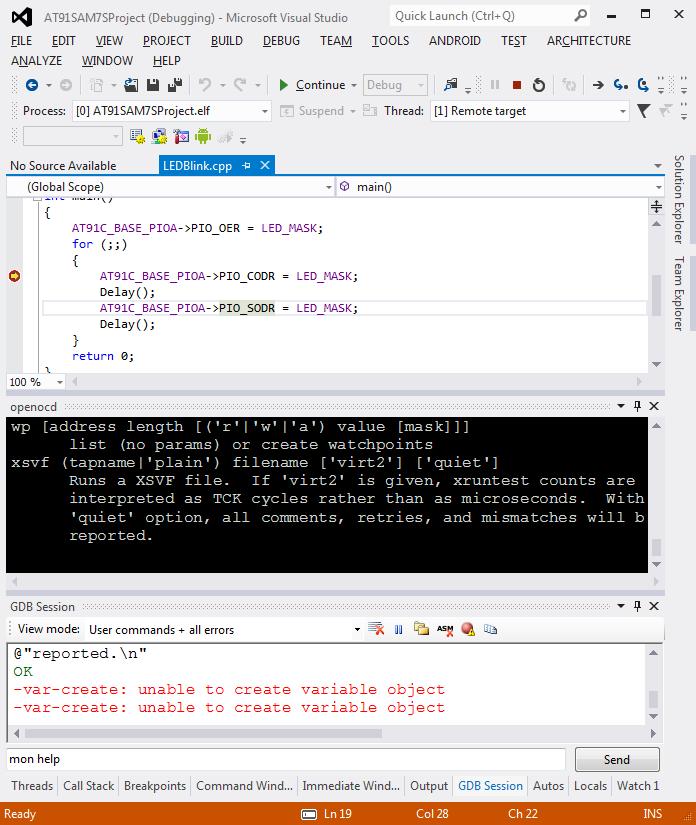 Configuring OpenOCD for JTAG debugging VisualGDB Tutorials