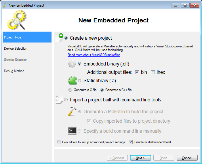 Making a basic USB CDC project for STM32F4Discovery – VisualGDB