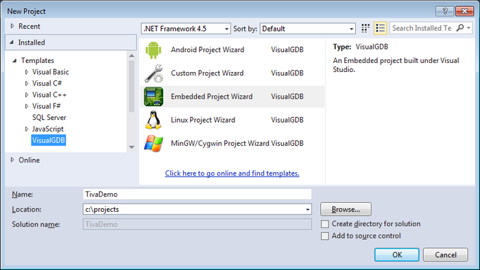 Developing Tiva/Stellaris firmware With VisualGDB