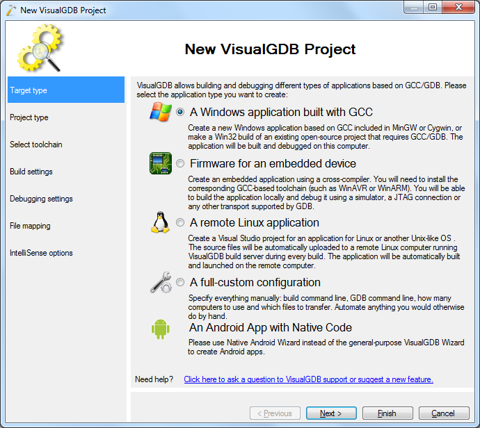 Importing Cygwin-based Projects to Visual Studio – VisualGDB