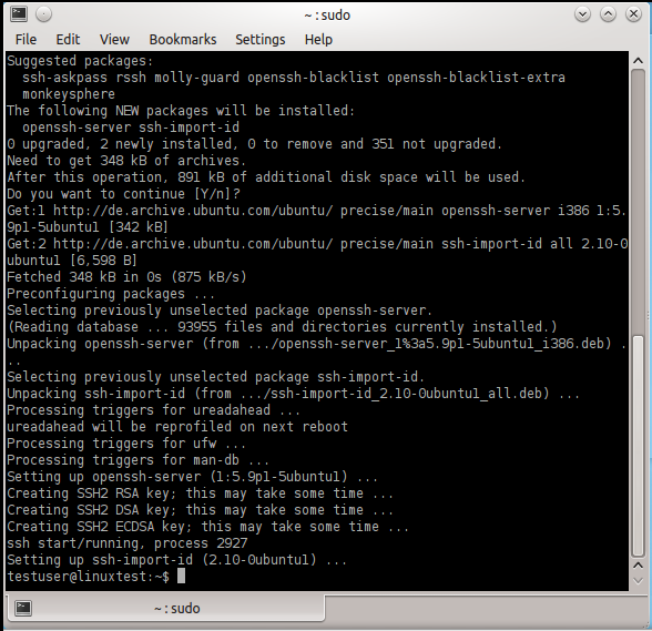 how to create an ssh key on windows