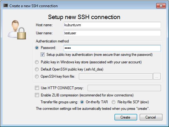 Configuring SSH public key authentication – VisualGDB Tutorials
