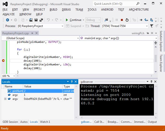using wiringpi library with raspberry pi cross compiler visualgdb rh visualgdb com CMake Cross-Compile Build GCC Cross Compiler